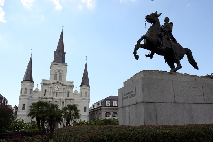 Jackson Square in New Orleans #travel #usa