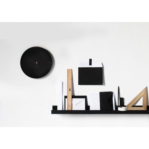 Ρολόι τοίχου tre small black