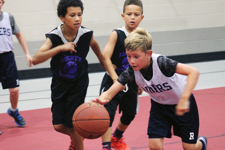 Several 3 on 3 basketball teams in the 4th and 5th grade age division competed Saturday in Ames as part of the Summer Iowa Games. Photo by Sarina Rhinehart/Ames Tribune  http://amestrib.com/news/thousands-flock-ames-summer-iowa-games