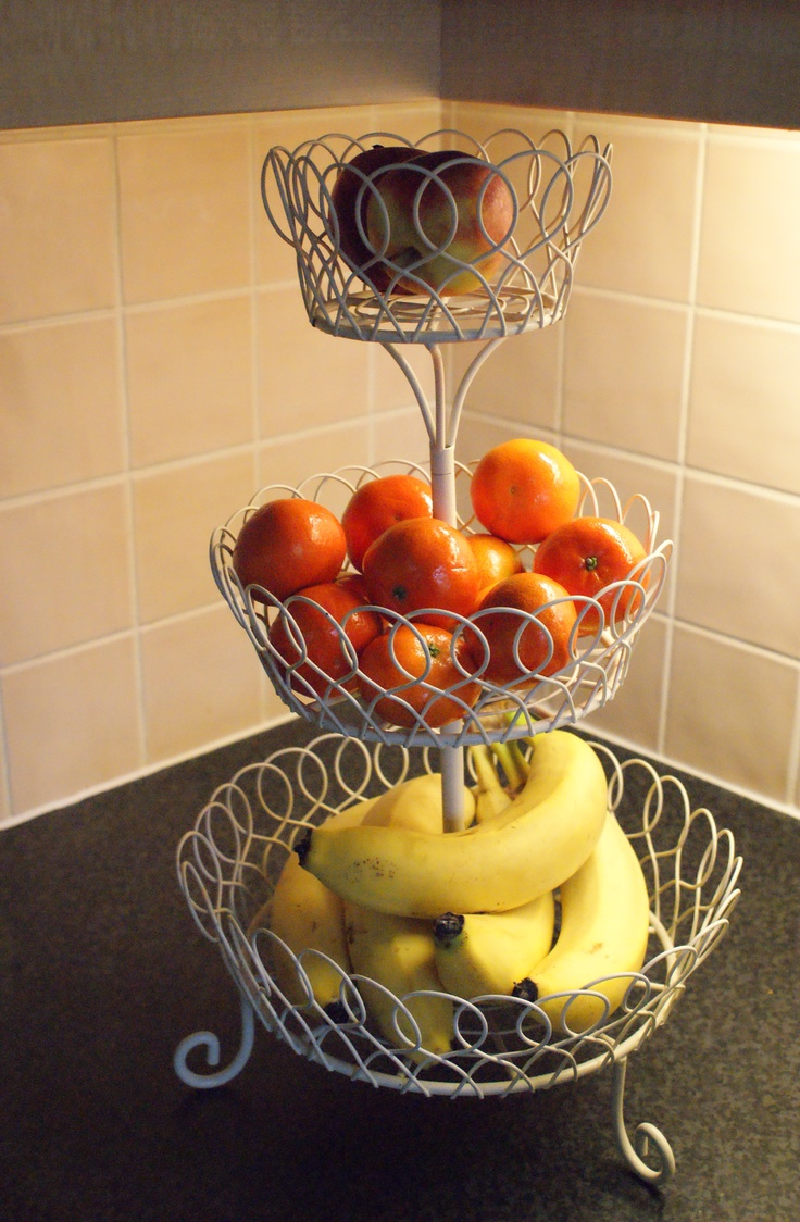 My 3 Tiered Fruit Bowl House Pinterest Fruit Chang