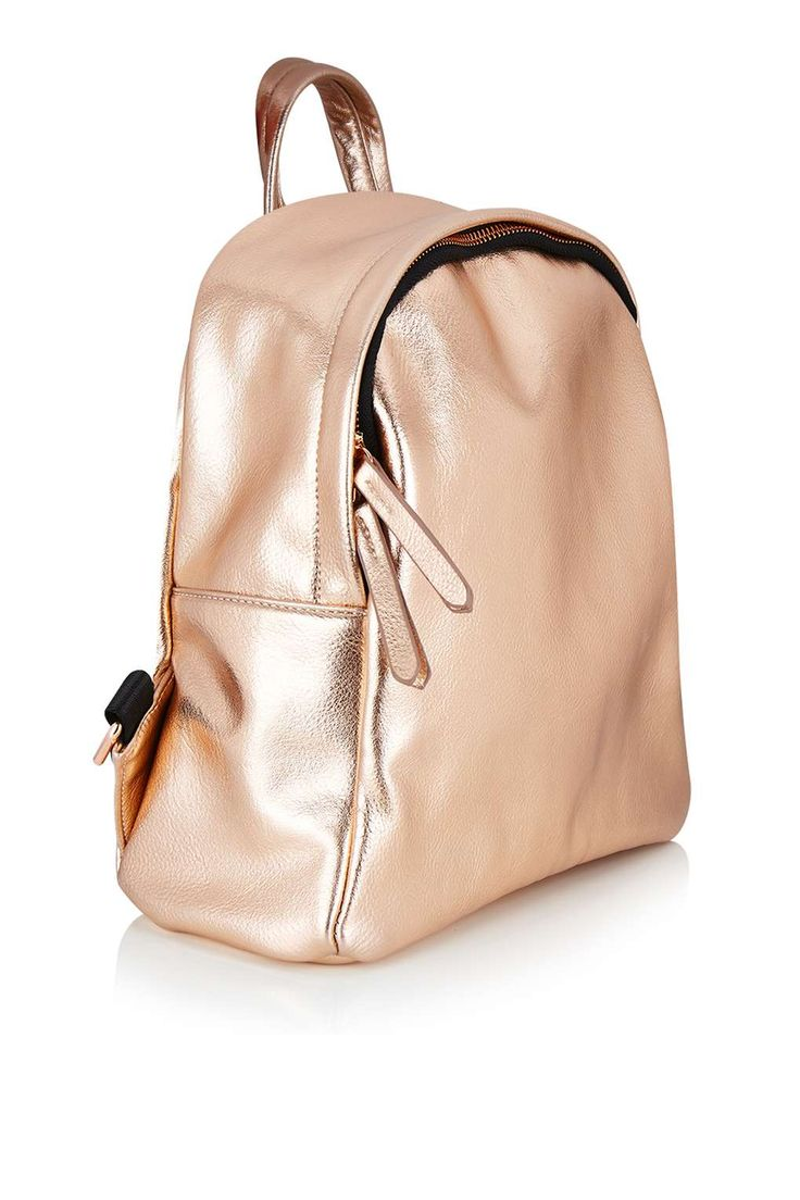 **TOPSHOP EXCLUSIVE Rose Gold Backpack by Skinnydip - Bags & Purses - Bags & Accessories - Topshop