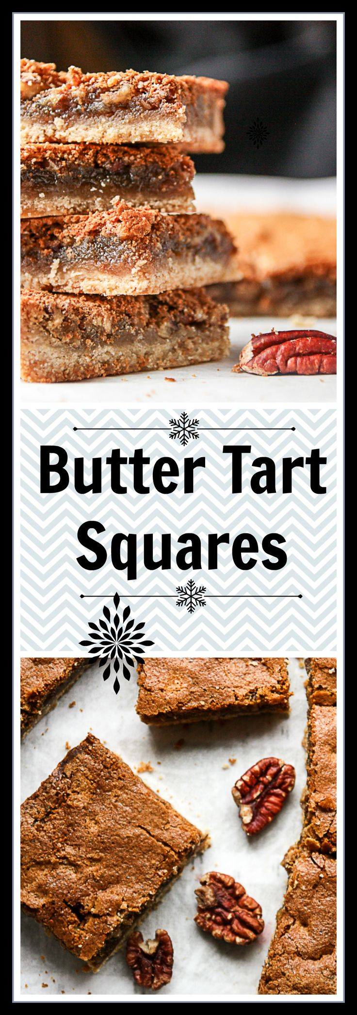 Butter Tart Squares are all the gooey goodness of a butter tart, only in a square. A shortbread crust as the base makes these treats extra delicious.