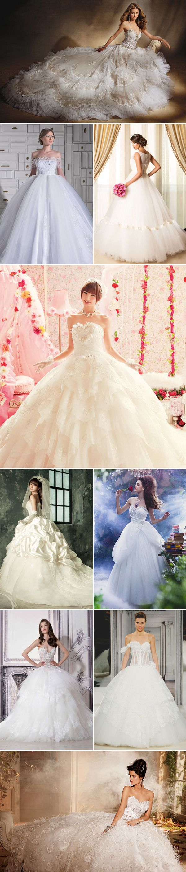 37 Princess Royal Ball Gowns with a touch of Glam! Dreamy Ball Gown