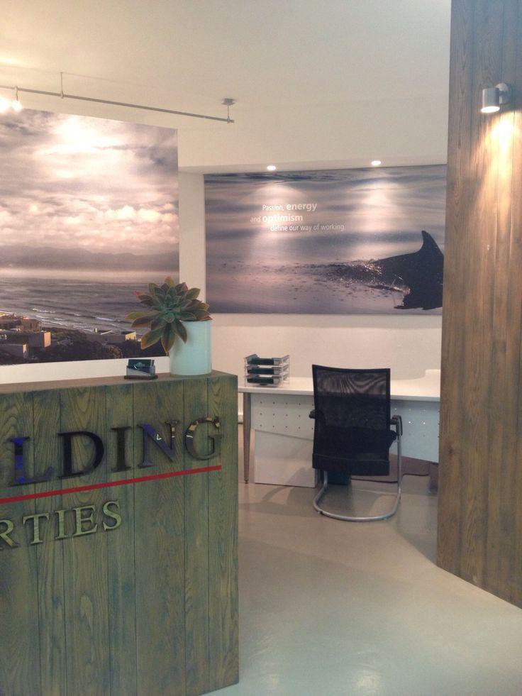 Office design for Pam Golding Properties Plett by www.petrusmareedesign.co.za