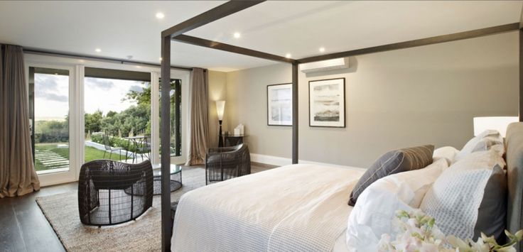 Hamptons-style country house for sale in Main Ridge, Victoria Australia.