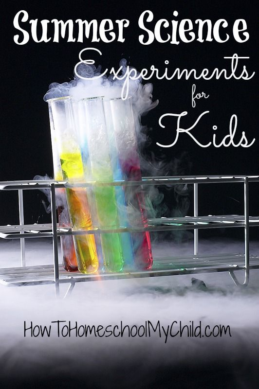 LOTS Summer Science Experiments for Kids {Weekend Links} from HowToHomeschoolMyChild.com