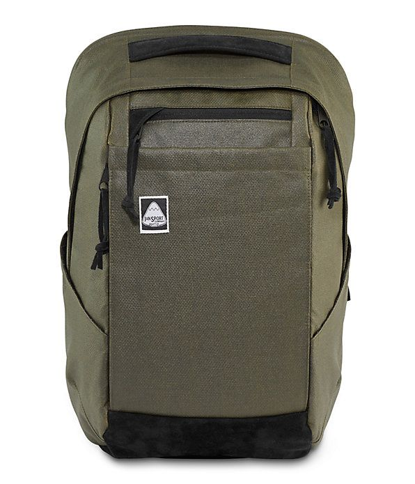 Check out our Cross Check backpack, made with premium coated fabric and suede trim, and featuring plenty of pockets plus laptop and tablet sleeves.