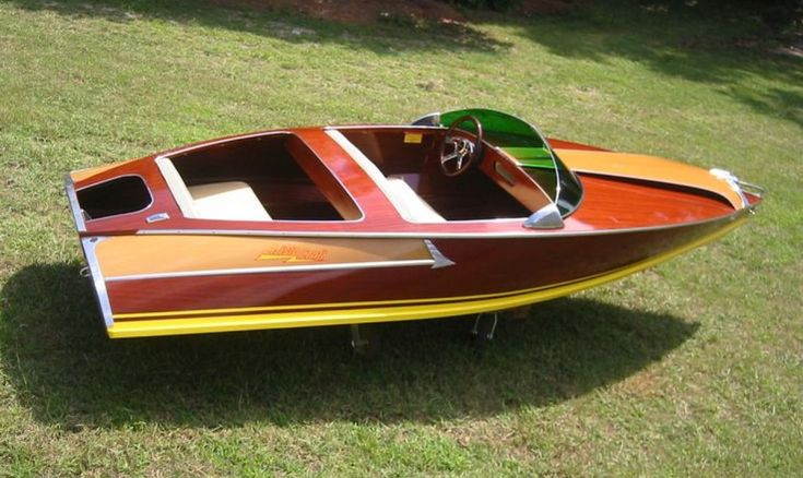 16 Best Mini Speed Boat/ Wake Boats Images Motor, Outboard Wooden Boat Plans   Wooden boats ...