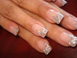 Resultado de imagen para uñas decoradas con escarcha