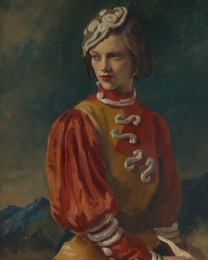 50 best power beauty the art of sir oswald birley images on a portrait of kyra nijinska 1913 98 by society portraitist sir oswald birley ccuart Gallery