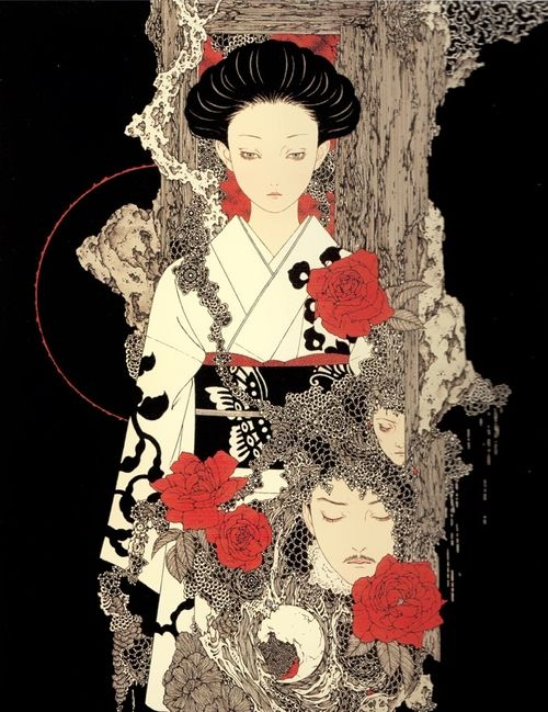 Yamamoto Takato (山本タカト) 1960-, Japanese Artist