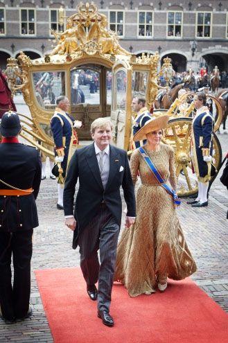 royalwatcher:  King Willem-Alexander and Queen Maxima, Prinsjesdag 2013