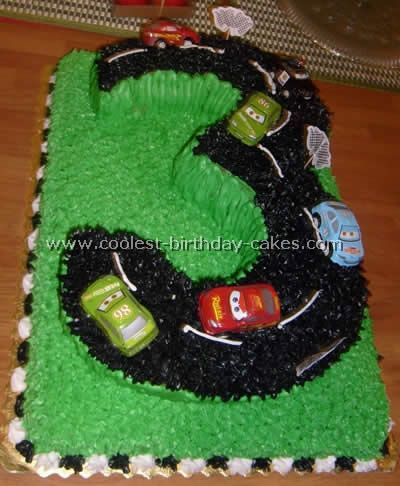Homemade Birthday Cake Ideas | Car Party Cakes Kids Themes Birthday Ideas Pictures