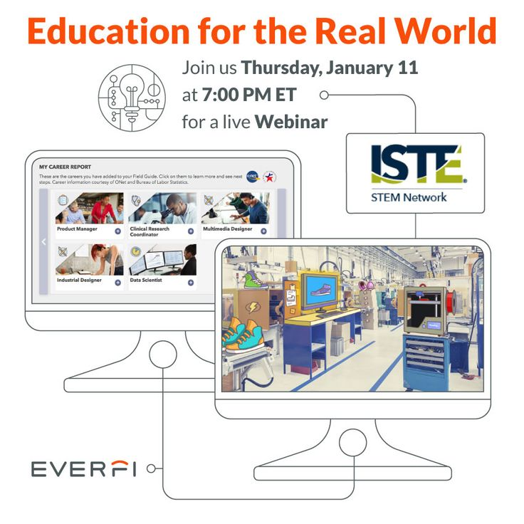 The 9 best january images on pinterest january financial literacy educator webinar join iste stem network this thursday as they share digital lessons for connecting fandeluxe Choice Image