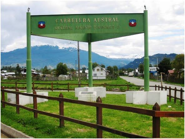 At Chaiten begins Chile's famous Southern Highway, the Carretera Austral. | from Diario El Huemul http://www.elhuemul.cl/2014/11/06/circuito-chaiten-el-amarillo-villa-santa-lucia-puerto-ramirez/