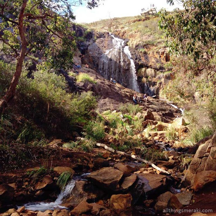 Lesmurdie Falls - A spectacular waterfall easily accessible, located in the Perth Hills less than an hour from the CBD
