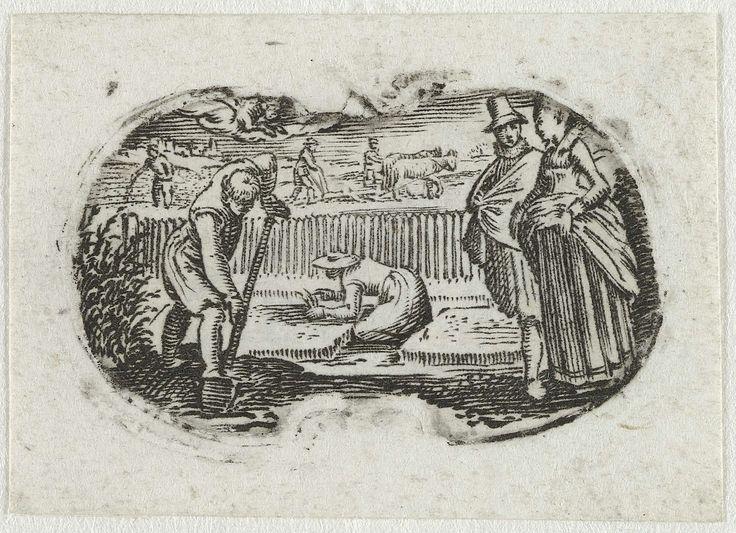 April, anoniem, ca. 1625 - ca. 1700