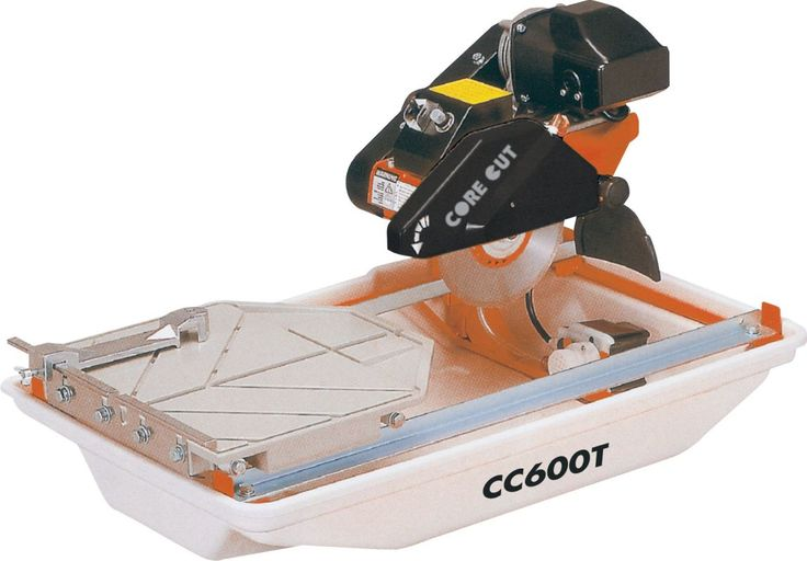 "Diamond Products 5800558 3/4 HP 15 Amp 115V/60Hz Tile Saw 7"" Blade Capacity Power Tools Saws Tile Saws"