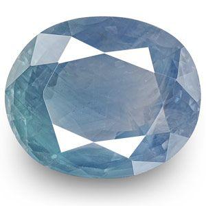 5.04-Carat Lovely Unheated Velvety Blue Sapphire from Kashmir
