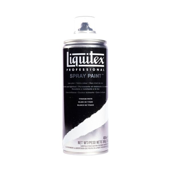 Art Shed Online - Liquitex 400ml Professional Acrylic Spray Paint - Titanium White, $22.95 (http://www.artshedonline.com.au/liquitex-400ml-professional-acrylic-spray-paint-titanium-white/)