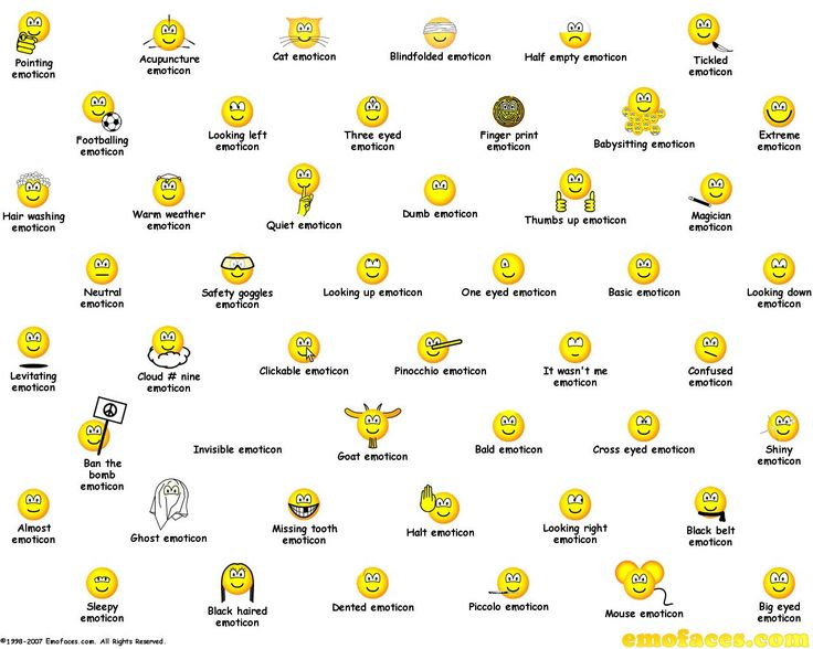 Images Of Emoticons Facebook Symbols Spacehero