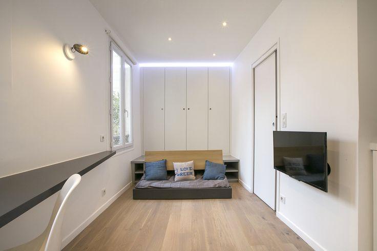 Location studio meublé Avenue de Versailles, Paris | Ref 13350