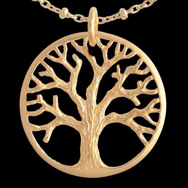 The 24 best sacred geometry inspired necklaces pendant bracelet gold vermeil tree charm pendant httptribucollections aloadofball Choice Image