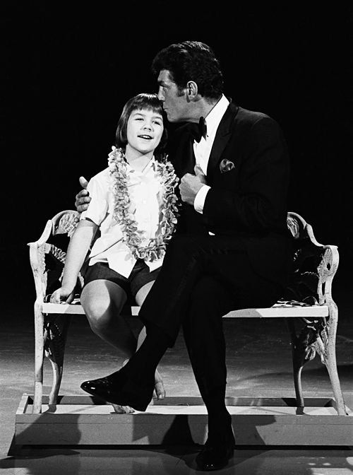 Dean Martin and Donna Butterworth on The Dean Martin Show, 1966