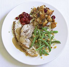 Create your own thanksgiving menu with recipe suggestions – provides shopping list and menu