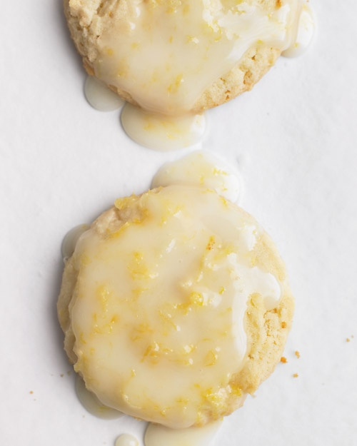 Lemon Glaze for Glazed Lemon Cookies Recipe | Martha Stewart