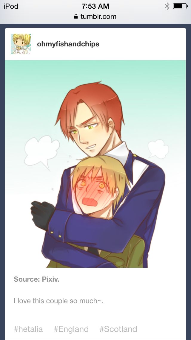 And Hetalia England Scotland Fanfiction