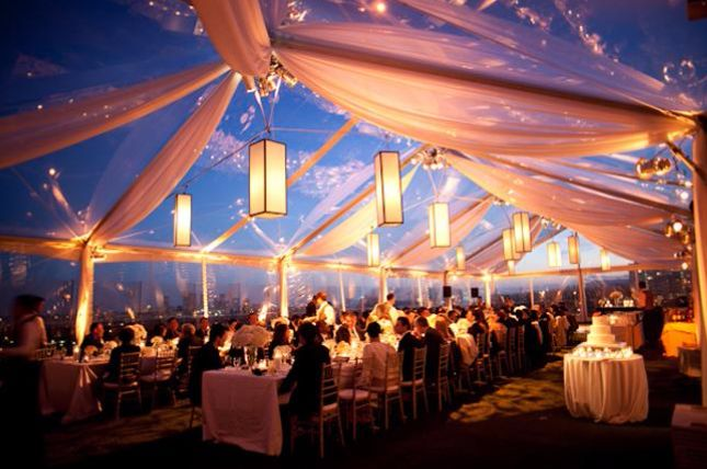 Wedding tent rental prices are not as high as the price tags of halls in hotels and resorts so an open-air festivity is also a budget-friendly decision.