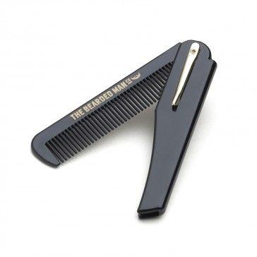 The Bearded Man Company Folding Beard Comb