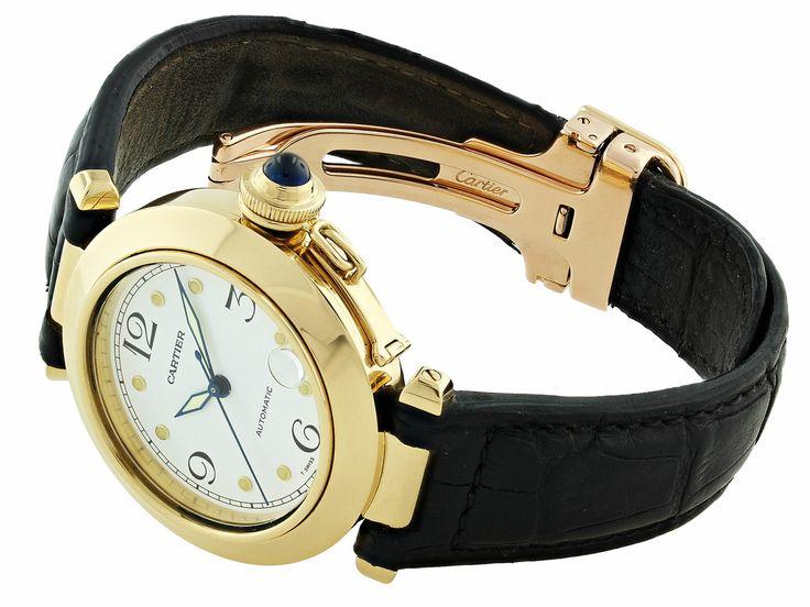 Cartier Pasha Watch in 18K from BELADORA