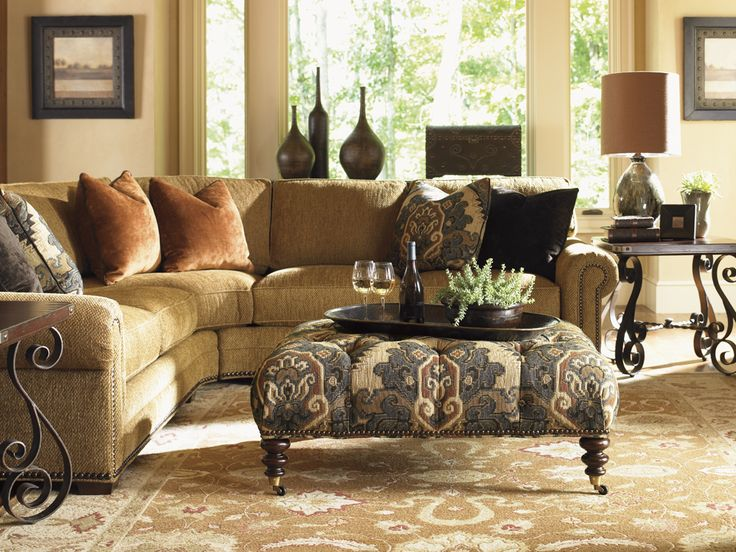 Fieldale Lodge Upholstery Setting   Lexington Home Brands