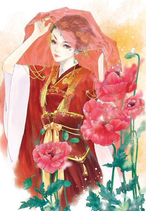 Chinese bride by ~gracezhan on deviantART