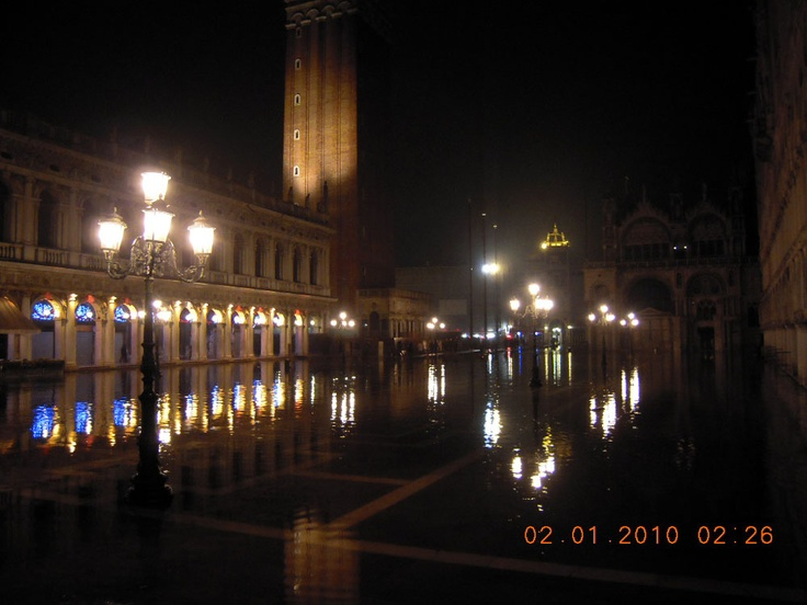 Venice during tall waters