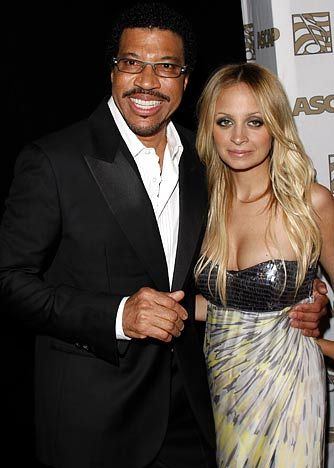 Singer Lionel Richie and his daughter Nichole