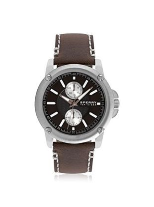 sperry s 103525 top sider brown stainless steel