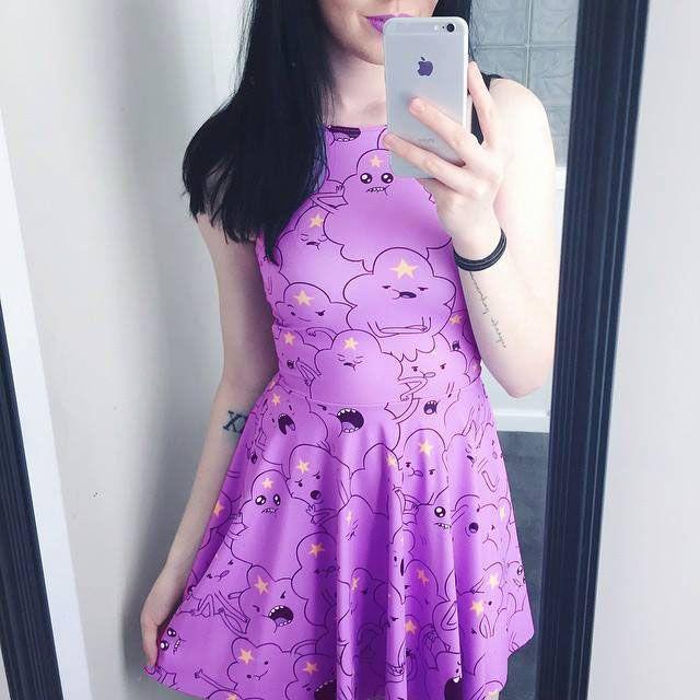 Vestido Princesa Caroço - Hora de Aventura - Yoh Store - Moda Pop, Kawaii e…