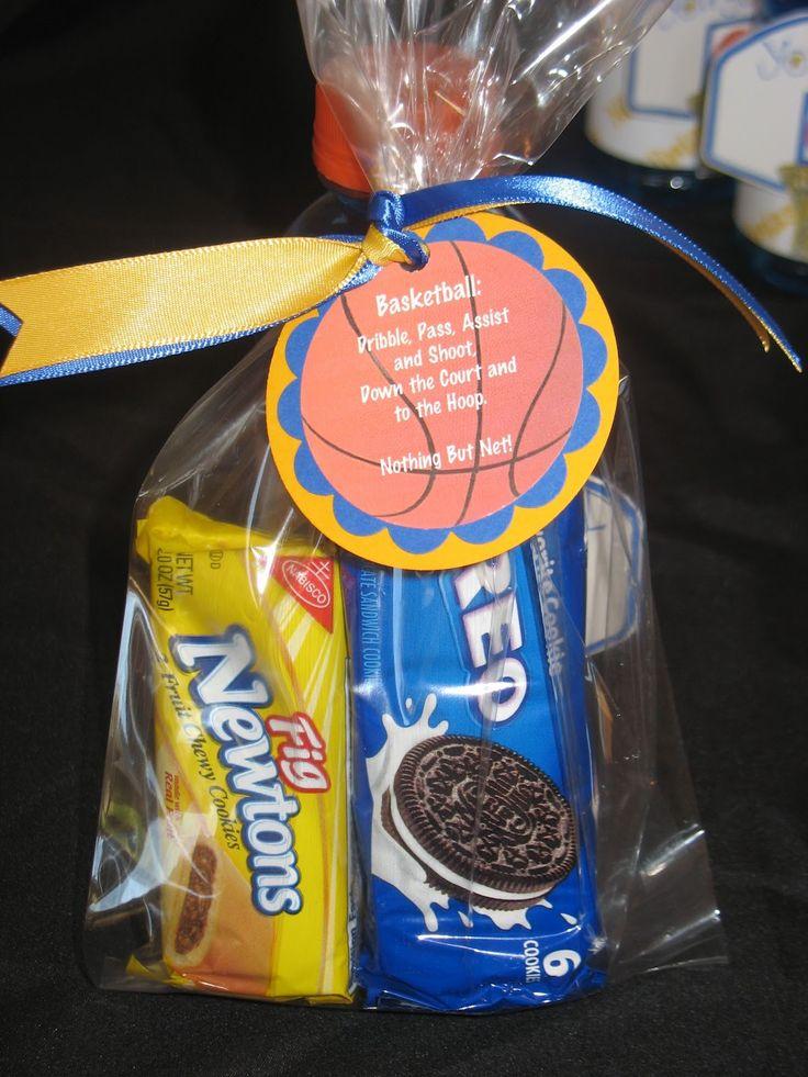 Crafty and Sweet Treats!: Basketball Team Treats