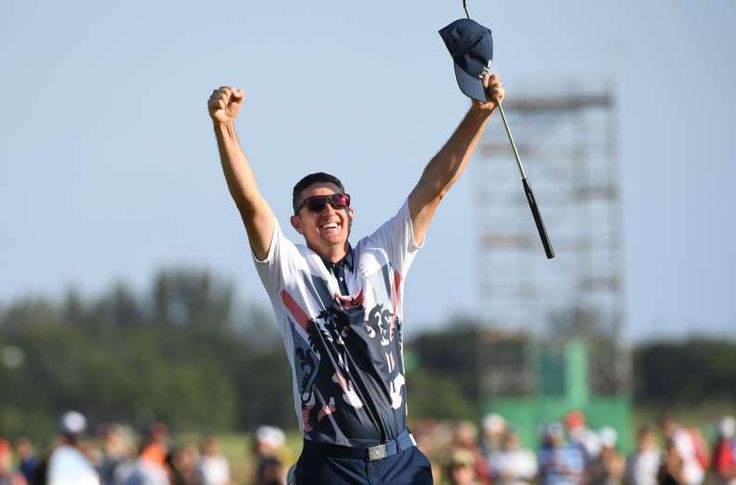 Aug. 14: Golf returned to the Olympics after a 112-year absence. Justin Rose of…