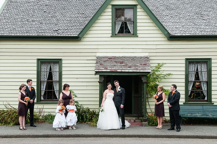Christchurch wedding with Ruth and Mike. Ferrymead Heritage Park.