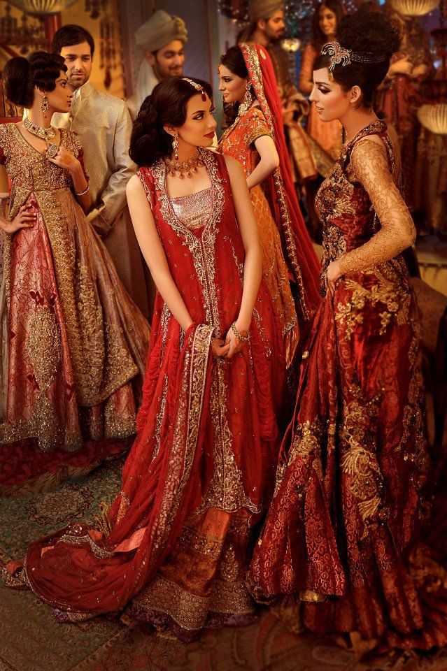 268 best authentic pakistani bridal dresses images on