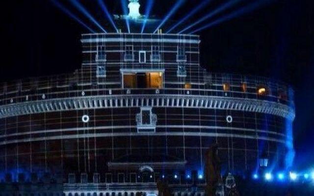 La spettacolare presentazione della PlayStation 4 a Castel Sant'Angelo #ps4 #roma #castel #sant'angelo #sony