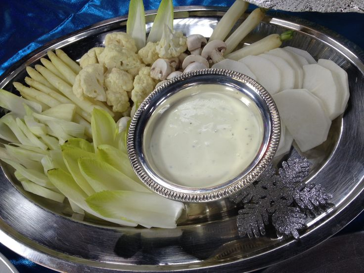 White Christmas Crudite!
