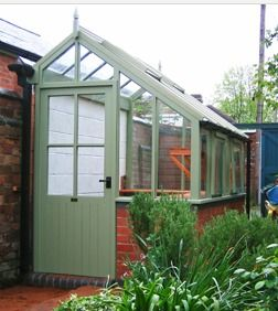 Small greenhouse. Could do one under our bedroom windows? CB