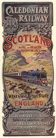 The Caledonian Railway, West Coast Royal Route from and to England