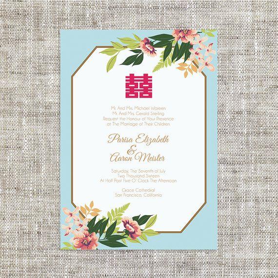 17 Best ideas about Chinese Wedding Invitation – Wedding Card Invites
