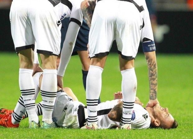Ένα μήνα εκτός δράσης θα μείνει ο Έργκους Κάτσε μετά το τραυματισμό του στο χθεσινό παιχνίδι. Ο Αλβανός διεθ